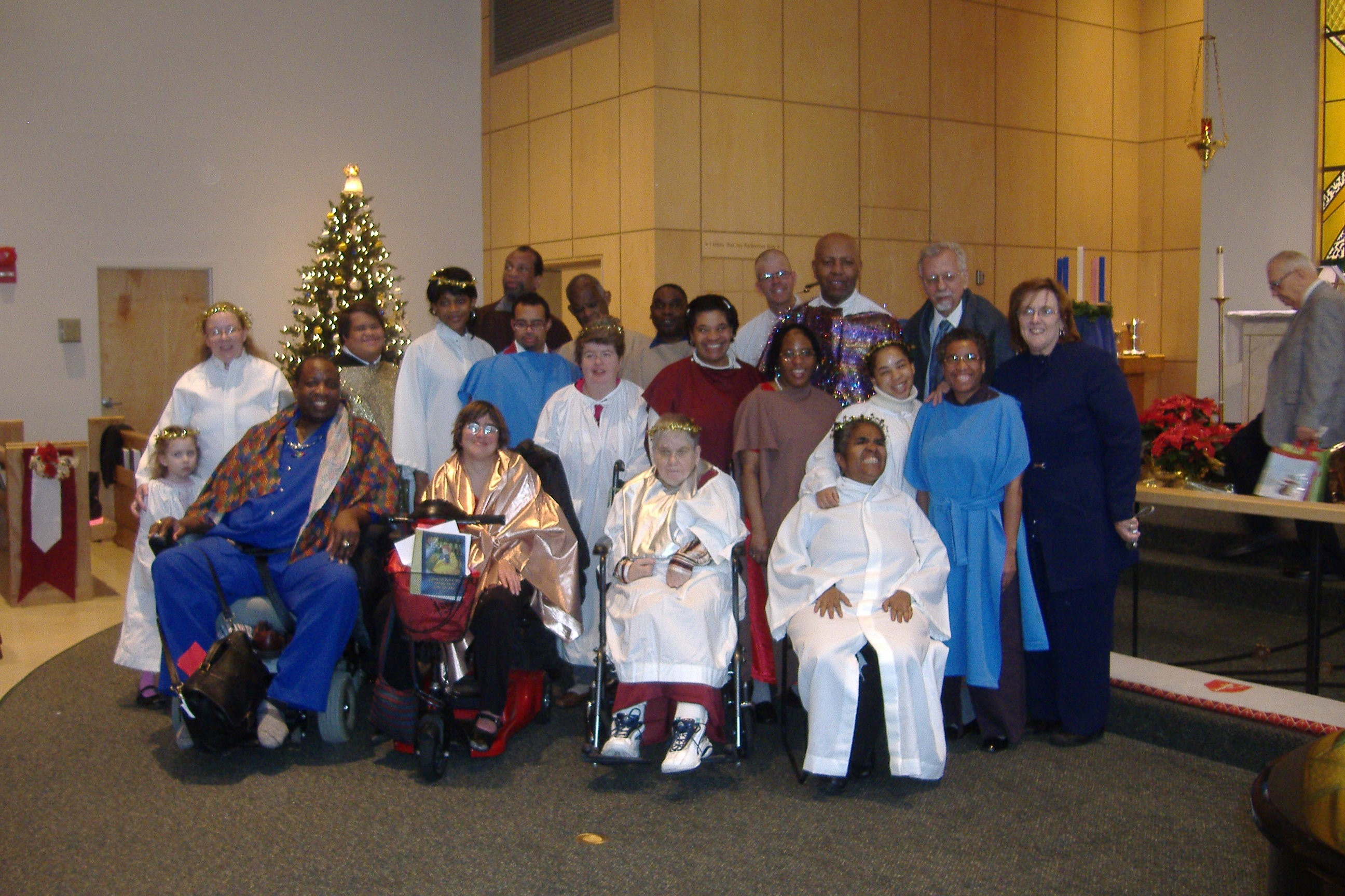 Gospel Drama Chirstmas at First Trinity